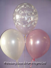 15 Boys or Girls Christening Helium or Air Balloons Party Decorations Butterfly
