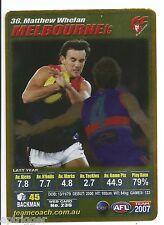 2007 Teamcoach Gold (36) Matthew WHELAN Melbourne