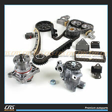 Engine Timing Chain Kit + Water Pump & Oil Pump for Suzuki Chevrolet 2.5L 2.7L
