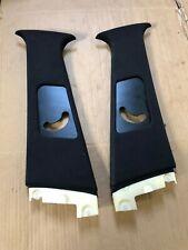 BMW E39 Upper B Pillar Interior Black Trim 8172419 8172420 Sport 530d Touring