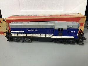 Lionel No. 2339 Wabash Road GP-7 Diesel Locomotive, Blue/White/Gray