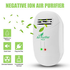 Portable Air Purifiers Cleaner Fresh Negative Ionizer Generator Remove Dust Usa