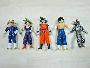 Dragon Ball Z Action Figure Lot (5) Goku Cell Mixed Characters