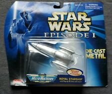 STAR WARS EPISODE 1: ROYAL STARSHIP MICRO MACHINES DIECAST 1998