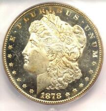 1878-CC Morgan Silver Dollar $1. ICG MS64+ DMPL (DPL Plus Grade) - $3,280+ Value