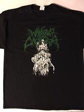 WAKING THE CADAVER T shirt XL Brutal DEATH METAL DISGORGE CEPHALOTRIPSY Kraanium