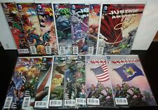 JUSTICE LEAGUE OF AMERICA #1-14 (2013 DC Comics) Full Run + #1 NY Variant New 52