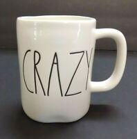 """BRAND NEW"" Rae Dunn ""CRAZY"" Large Letter Coffee Tea Mug By Magenta"