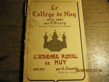 Le Collège de Huy DISCRY et L'Athénée Royal de Huy CHANTELOT 1931