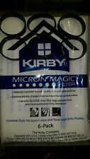 6 BELTS to fit Kirby & 6 F STYLE Cloth OEM SEALED Bags White Sentria Vacuum