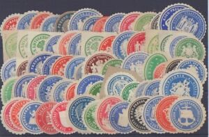 german history letter seals collection prussia, R48
