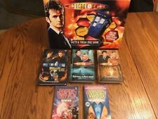 Lot of 6 Doctor Who Books Bbc Science Fiction + Facts & Trivia Quiz Game Vgc