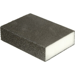 FOAM SANDING BLOCK Wet/Dry Bodywork ultra Fine-Coarse Grit Sandpaper Sponge Pads
