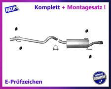 Auspuffanlage Opel Astra H / GTC / Caravan 1.9 CDTI Auspuff Montagesatz Chrom