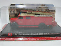 1/64 Scale Fire Truck Magirus - Deutz S 3000 SLG  - Germany - 1941 Diecast Model