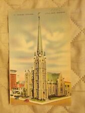 Vintage Postcard St. Andrews Cathedral, Little Rock, Ark.