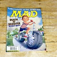 Mad Magazine #402 Feb 2001 Death by Scooter The West Wing WWF Playboy Playmates