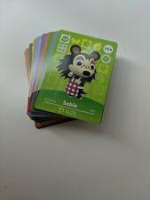[LOT of 57 Cards] Animal Crossing New Horizons Amiibo Card Nintendo - All Series
