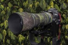 Tamron 150 600mm Neoprene Lens Protection Camouflage Cover : Green camo