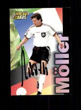Andreas Möller Deutschland Panini Card WM 1998 Original Signiert+ A 182330