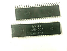 LM6405A AKAI INTEGRATED CIRCUIT DIP-42 LOT OF 2
