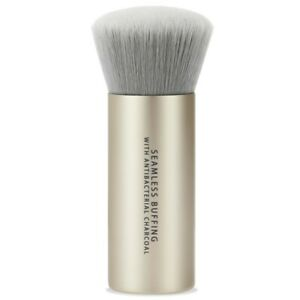 bareMinerals Seamless Buffing Brush w Antibacterial Charcoal Full Size Sealed