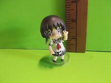 """#862 Unknown Figure 2.5""""in Brown Haired Girl Giving Peace Sign 2011 Enterbrain"""
