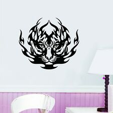 Abstract Tiger Removable Wall Stickers Vinyl Wall Decals Kids Room Home Decor