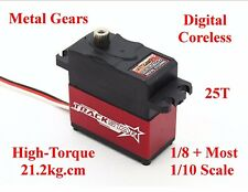 MG Servo for 1/10 1/8 Redcat HPI Traxxas Losi Associated Axial Nitro Brushless