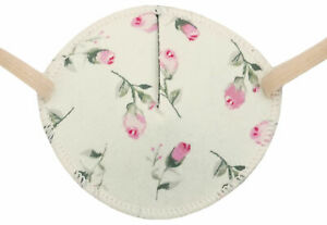 Medical Adult Eye Patch, Pink Roses - Soft, Washable, sold to NHS