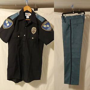 Security Guard Uniform Halloween Costume With Badge (See Description For Size)