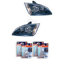 Scheinwerfer Set Ford Focus II 2 Typ DA3 Bj. 04-08 schwarz H1+H7 1341476