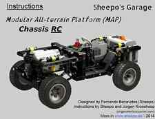 Sheepo's Lego Technic Modular All-terrain Platform MAP RC Chassis INSTRUCTIONS!!
