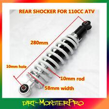 110cc ATV Quad bike Buggy Rear Shock Absorber Shocker Suspension Spring 280mm