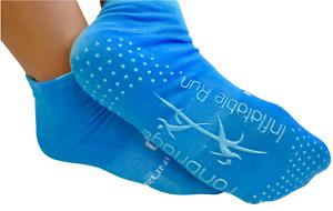 Yoga Grip Socks Sports Gym Non Slip Ballet Exercise Pilates Cotton UK Seller