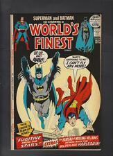World's Finest 211 Vf/Nm 9.0 52 Pg Giant Adams Cover Superman Batman Lg Scans