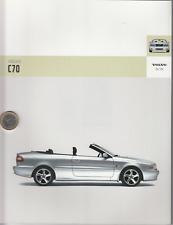 Volvo  C 70 Cabrio  Prospekt  Brochure  52  Seiten - 2005