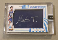 🚀📈2019 20 PANINI INSTANT CLEAR VISION MATISSE THYBULLE ON CARD AUTO #8/10