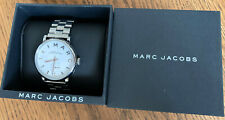 MARC JACOBS BAKER WHITE DIAL STAINLESS STEEL LADIES WATCH MBM3242