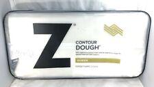 Pillow Contour Queen Malouf Gel Dough with Tencel Fabric Cover NEW