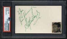 Stephen Boyd D.1977 Actor Ben-Hur Signed Auto 3x5 Index Card PSA/DNA