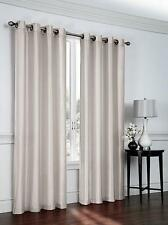Regal Home Collections® Faux Silk Grommet Top Curtain Panels - Assorted Colors