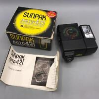 Vintage Sunpak Auto 421 Camera Flash