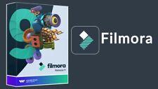Wondershare Filmora 9 with key Full / lifetime / 2020