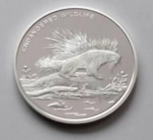 Porcupine 2009 Congo CuNi Silver plt