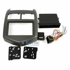 Metra 99-3012G-LC Single/Double-DIN Dash Car Install Kit for 2012-Up Chevy Sonic