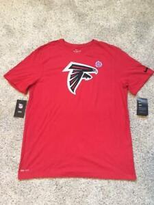 MENS NIKE ATLANTA FALCONS DRI-FIT NFL TEAM APPAREL RED TEE SHIRT M, L, XL, XXL