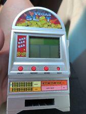 Vintage Las Vegas Toy Slot Machine Bank Plastics Mini