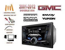 2001-2012 GMC SIERRA SAVANA YUKON ENVOY BLUETOOTH CD USB MP3 CAR STEREO COMBO