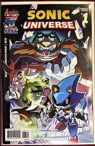 SONIC UNIVERSE Comic #83 May 2016 EGGMAN'S DOZEN 1 of 4 1st Ed Bagged Board NM++